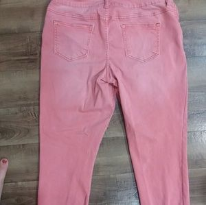Maurices Pants - Pink Maurices Jeggings